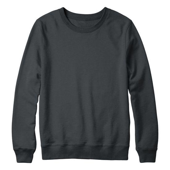 Crew Neck Sweatshirt Mockup Kaos T Shirt Jaket