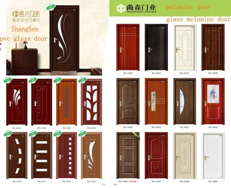 Pin de carlos tarulla en puertas pinterest puertas for Puertas de madera con vidrio para interior