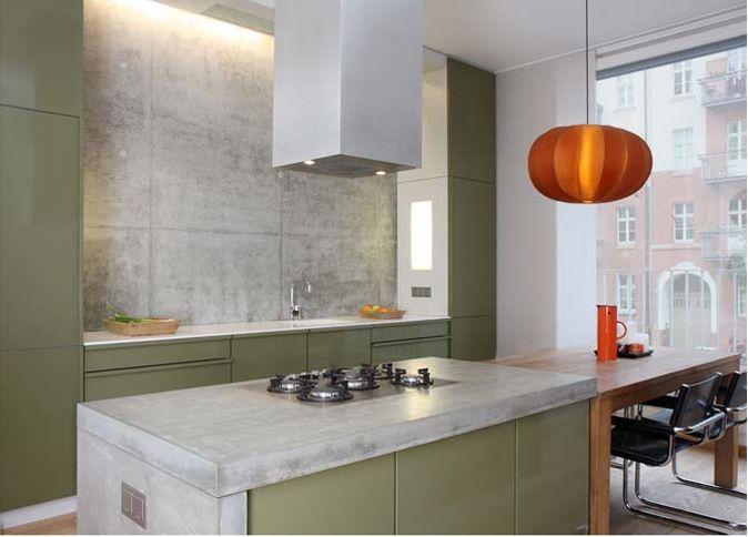Stahlküche von popstahl \/ kitchen by popstahl Bunte Küchen von - alternative zu fliesen in der küche