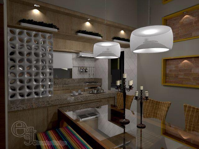 Projeto sala jantar