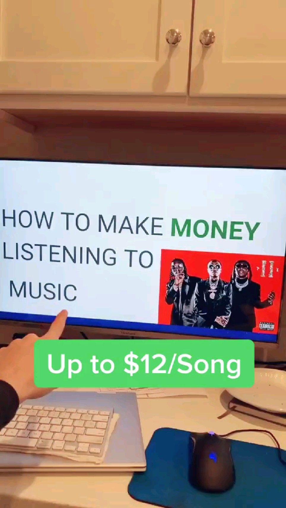 Earn 12$ per song