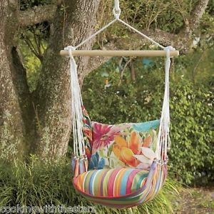magnolia casual pillows | about Magnolia Casual Hammock Swing Chair, Tote and Pillow Cushions ...