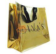 Altın Yaldız Laminasyonlu Bez Çanta..Patentli Üretim Netpak Ambalaj