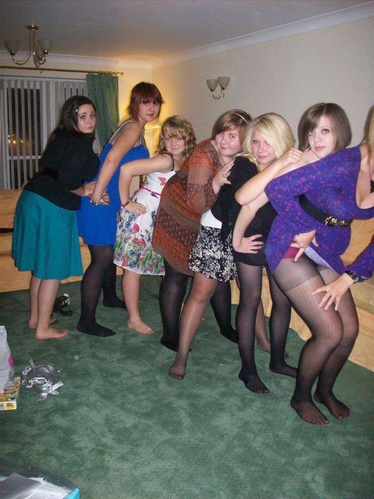 Events pantyhose party