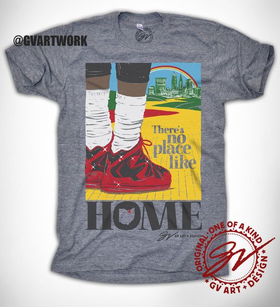 There's No Place Like Home Cleveland T shirt