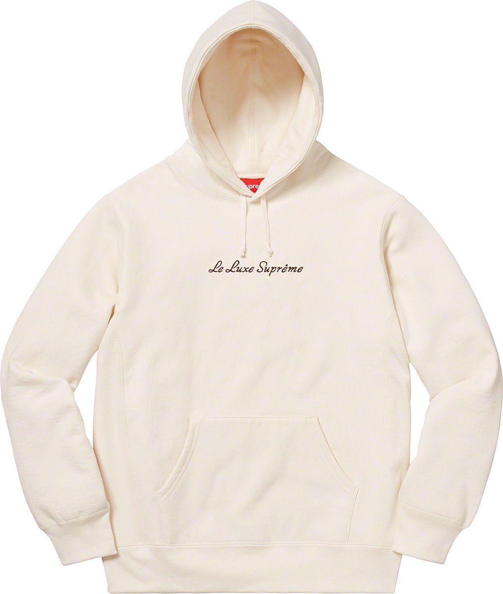 jakość wykonania w sprzedaży hurtowej autentyczna jakość Supreme Le Luxe Hooded Sweatshirt in 2019 | Sweatshirts ...