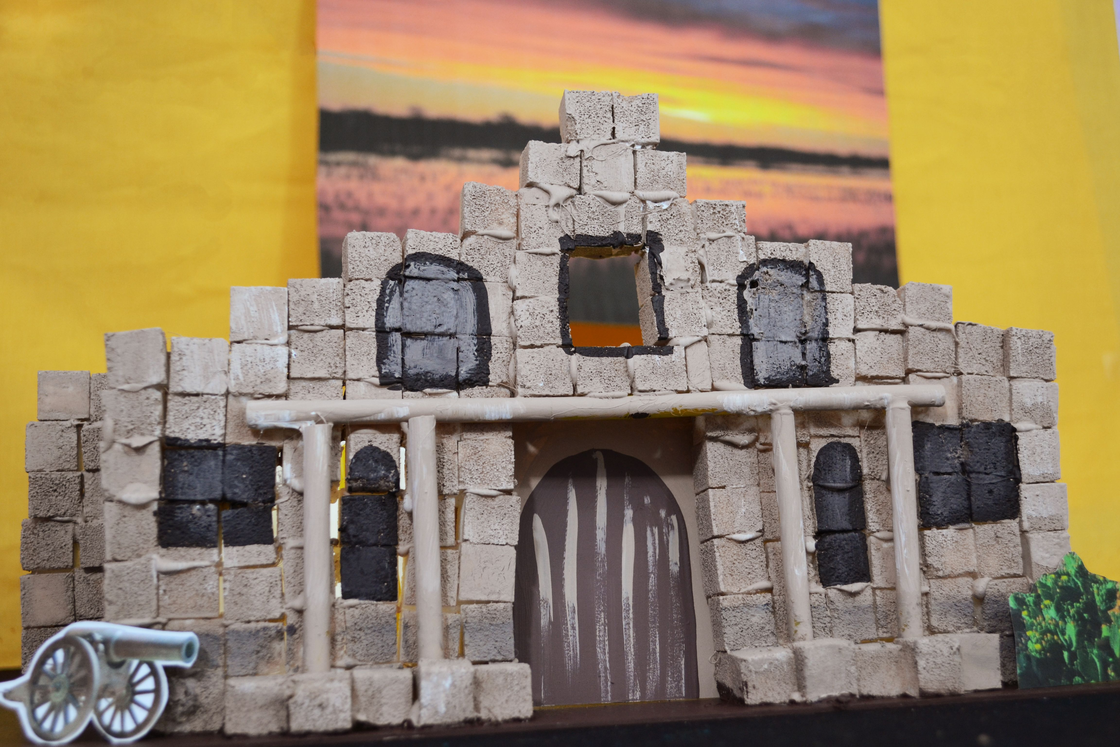How To Build The Alamo For A School Project Ehow School Projects Alamo Texas History Projects
