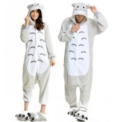 37.49 New Unisex Totoro Funny Kigurumi Pajamas Adult Animal Costume ... 694b39783