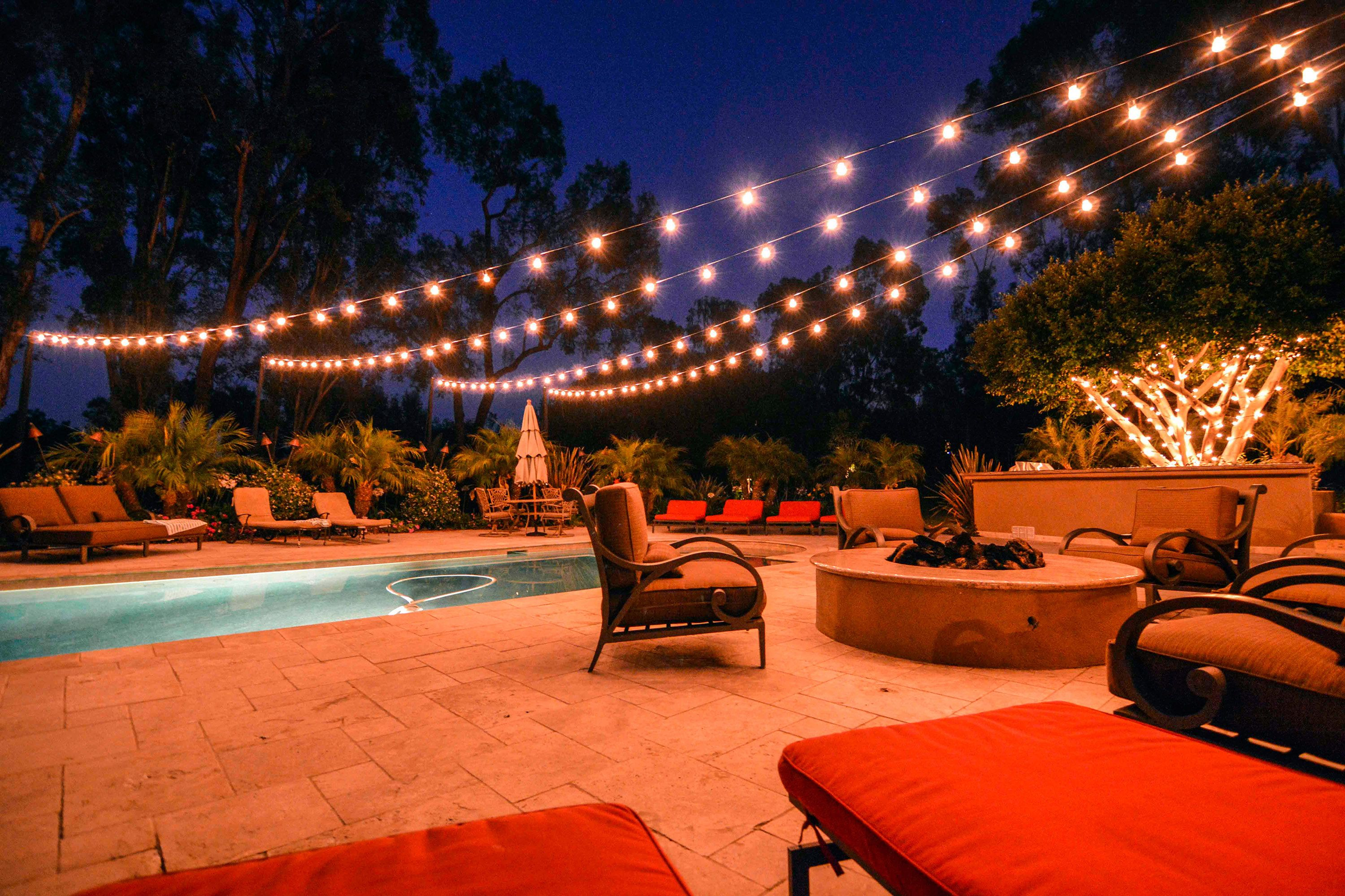 Italian String Lights Can Turn Your Backyard Into Your Own Personal Outdoor  Oasis.