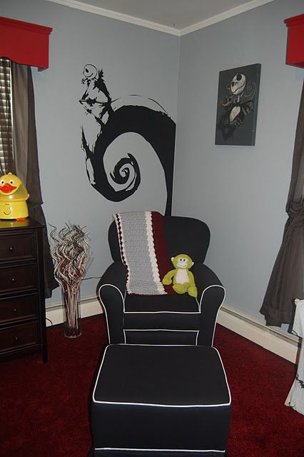 Nightmare Before Christmas nursery theme!   Baby boy room ...