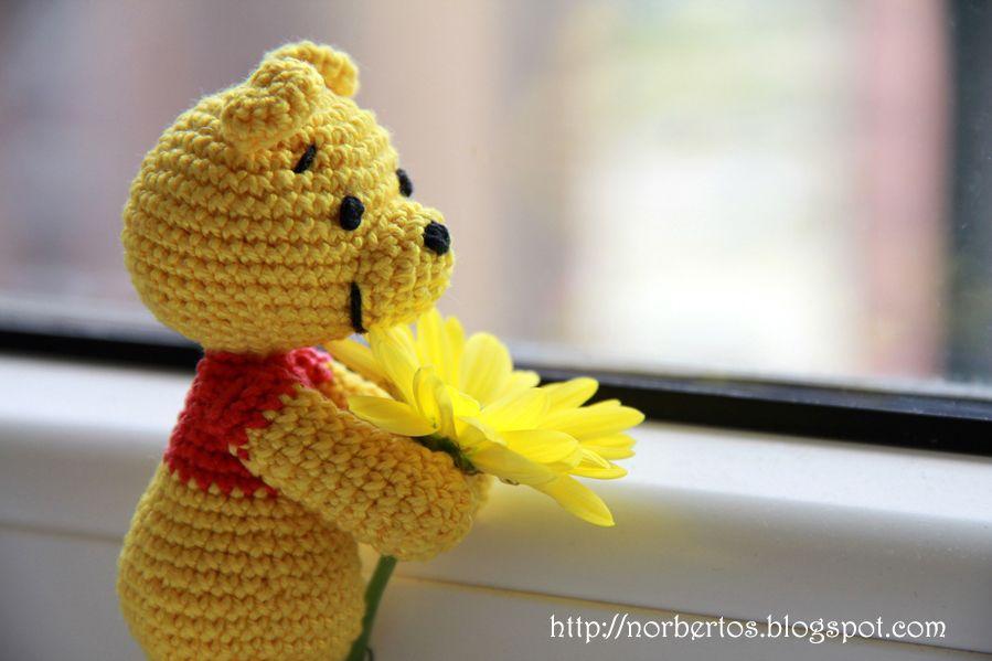 Crochet Bear Winnie The Pooh Sweet Crocheting Time Crochet