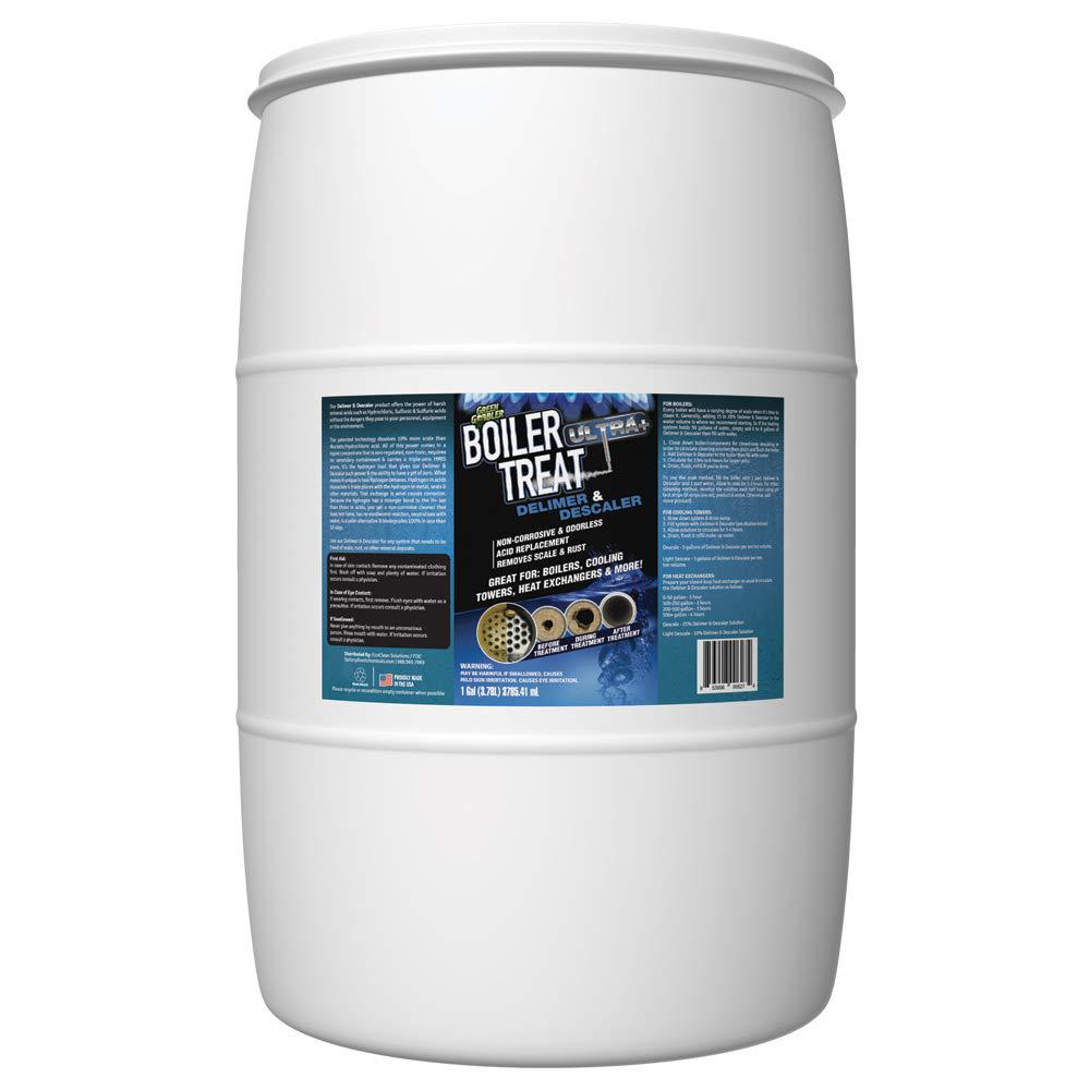 Eco Clean 55 Gal Delimer And Descaler Boiler Treat Ultra Cleaning Boiler Disinfecting Wipes