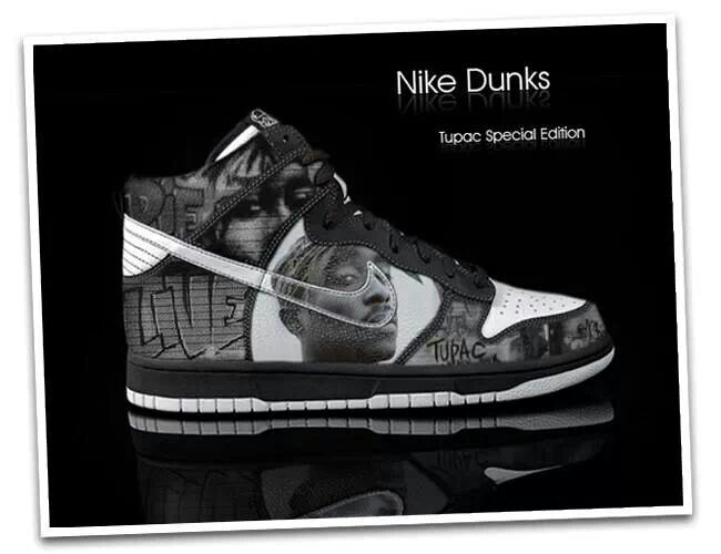 newest cae78 2499a Tupac special edition dunks