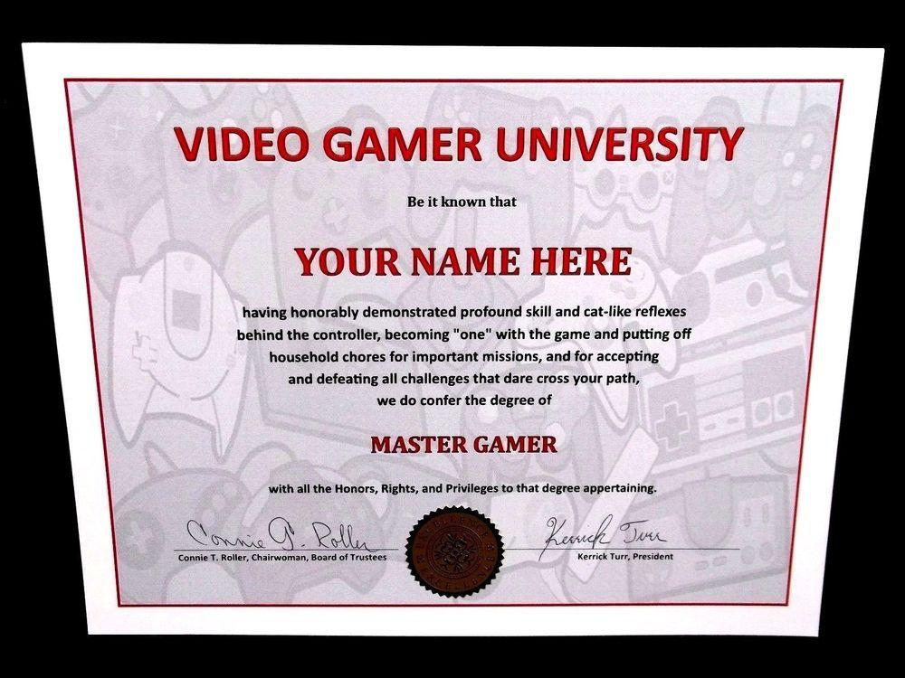 funny video gamer university controller graphics diploma game  funny video gamer university controller graphics diploma game ps3 ps4