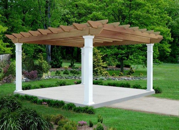 16' x 16' Cedar Oasis Pergola - 16 X 16 Pergola Designs And Ideas Pérgolas Com.... Pinterest