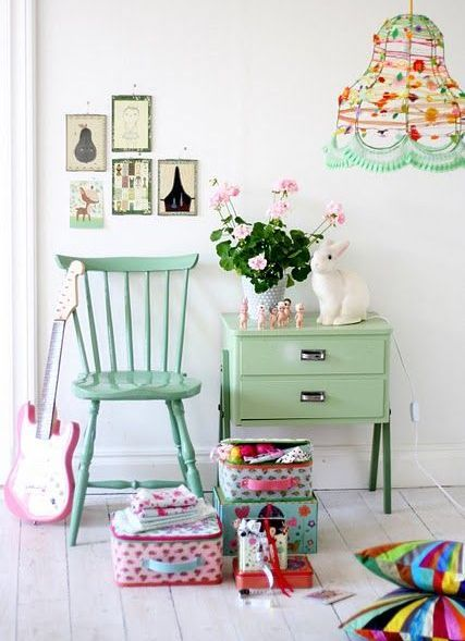Dica para suavizar a decoração dos pequenos | Macetes de Mãe