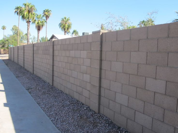 Concrete Block Fence Wall Ideas 14 Best Images About Masonry