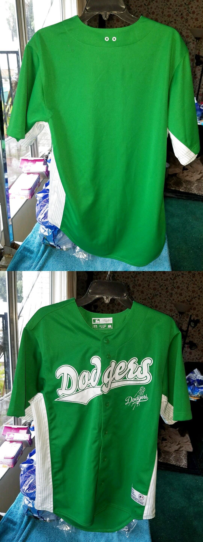Los Angeles Dodgers St. Patricks Day Jersey size medium  24.9  ece3309622f