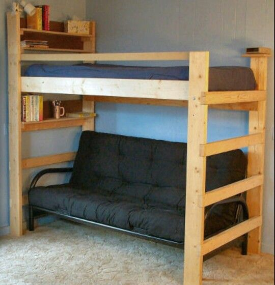 Loft And Shelf Wood In 2018 Pinterest Bed Bedroom And Loft