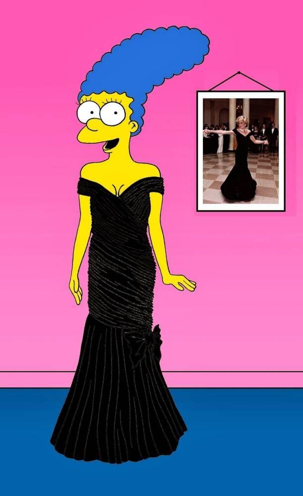 Marge Simpson  StyleSimpsons  Pinterest