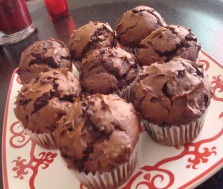 Chocolate cake mix pumpkin muffin recipe