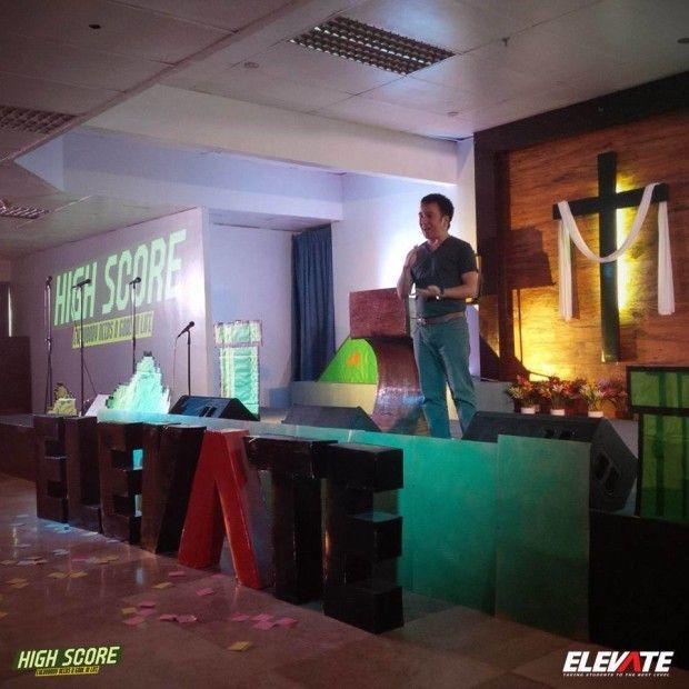 Mario On Stage | Church Stage Design Ideas