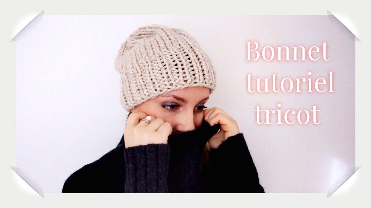 Bonnet Adulte Tutoriel Tricot Facile Berretto Maglia Adulto