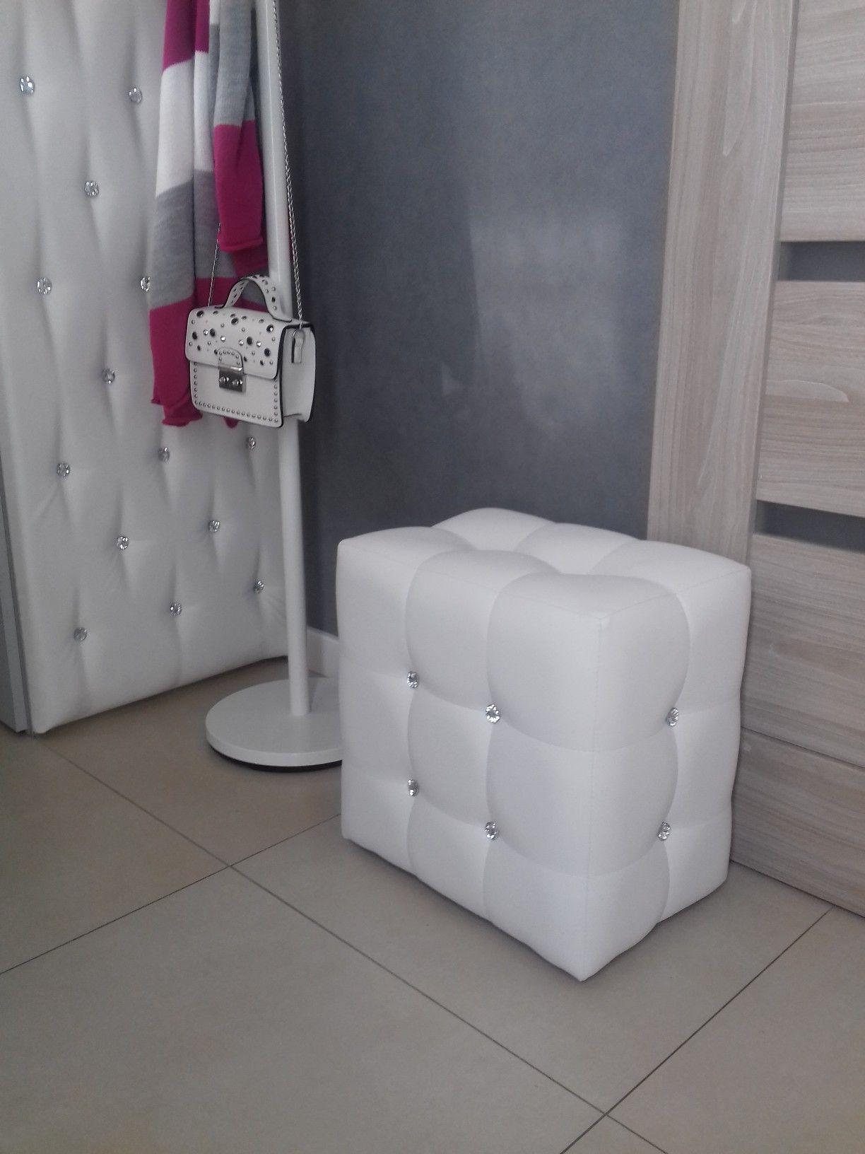 Pufa Pikowana Biala Pufa Toilet Paper Holder Toilet Paper Paper Holder