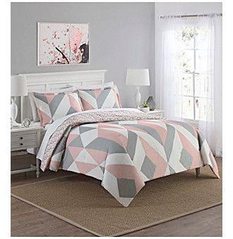 Waverly Marble Hill Lena Reversible 3 Piece Comforter Set