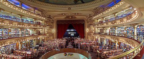 Libreria Ateneo Una Joya Cultural De Buenos Aires