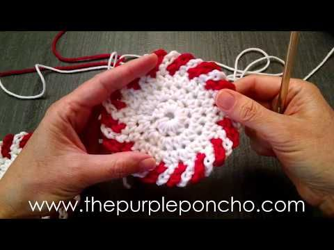 Crocheted Chain Loop Edging (Do It And How) #crochettutorial