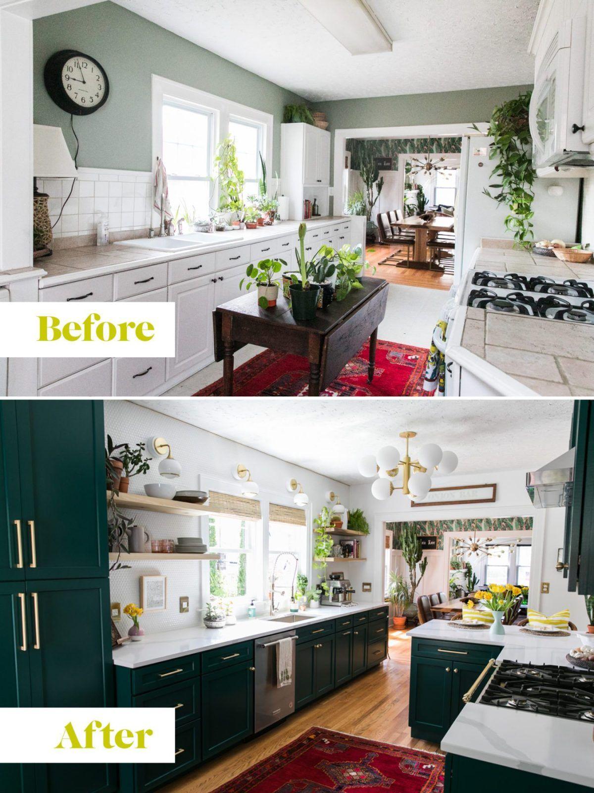 One Room Challenge - Green Kitchen Glamazon - The Reveal » Jessica Brigham