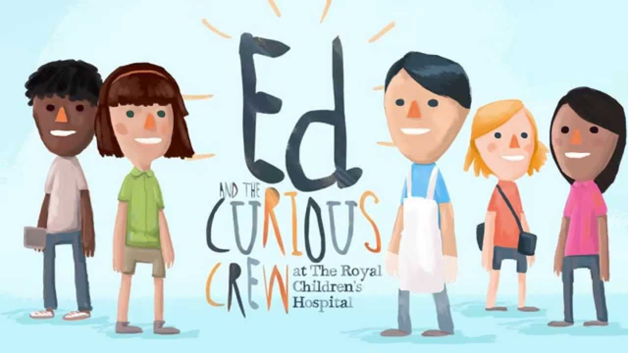 Galahad At The Launch Of Ed And The Curious Crew App At The Royal