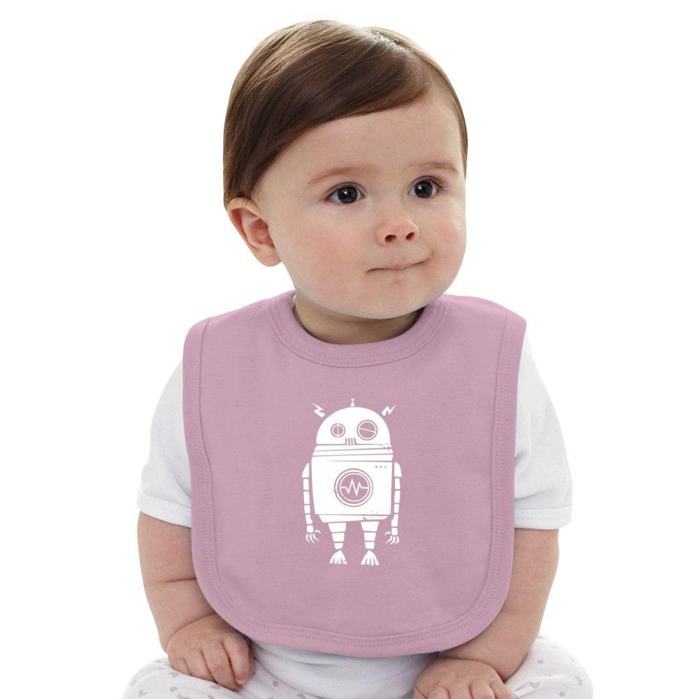 Big Robot Baby Bib