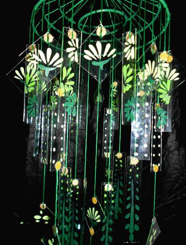 Japanese Glass Windchime Chinese Glass Wind Chime Large Green Wind Chimes Glass Wind Chimes Wind Chimes Sound