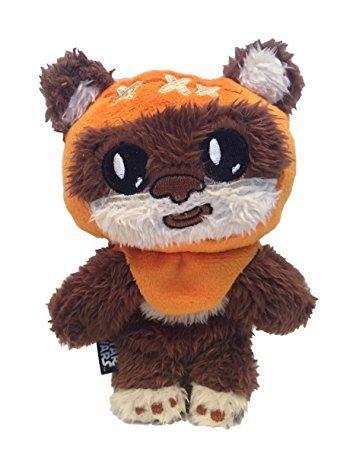 Star Wars Dog Toy Ewok Squeaky Crinkle Squeaker Puppy Plush Chew