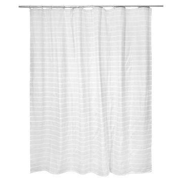 ThresholdTM Light Stripe Shower Curtain