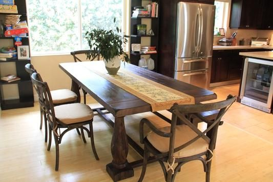 Rustic Java Greyson Fixed Dining Table World Market Dining Table