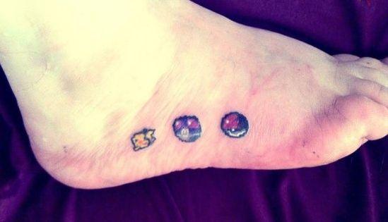 #Pokemon #8-bit #tattoo. Gotta ink em' all? | Sick Ink ...