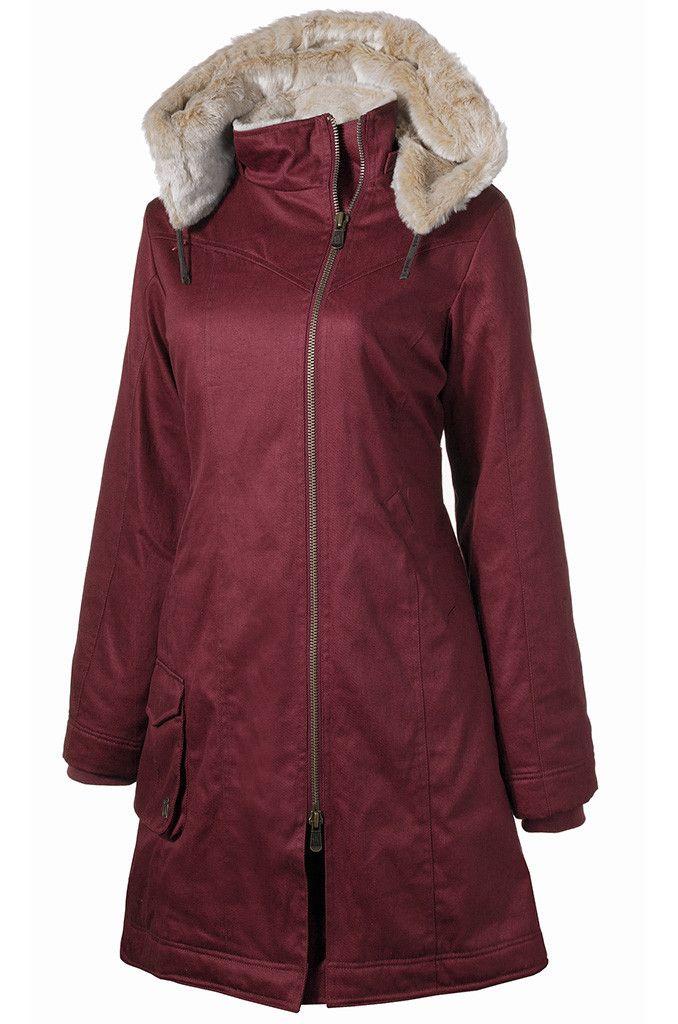 Ladies' Long HoodLamb Coat Midnite Blue | HoodLamb FW14