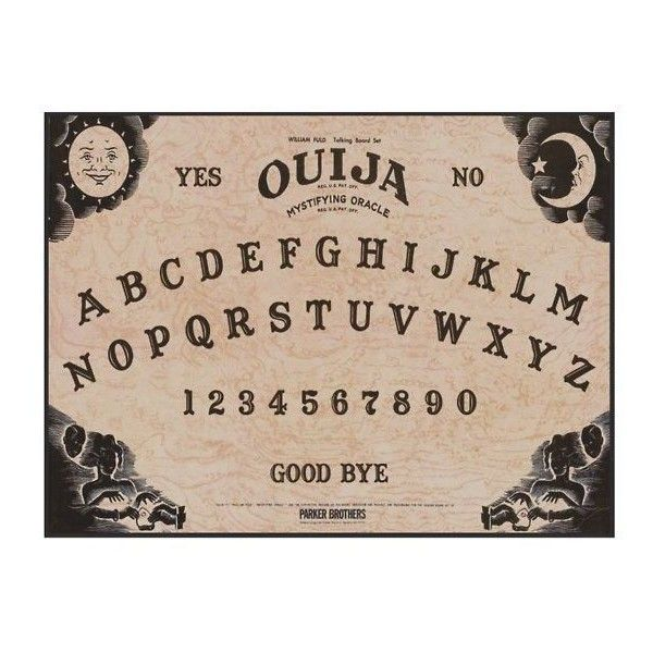 Ouija Board 1000 Piece Jigsaw Puzzle Liked On Polyvore Featuring Filler Random Phrase Quotes Saying And Text Ouija Ouija Board Room Posters