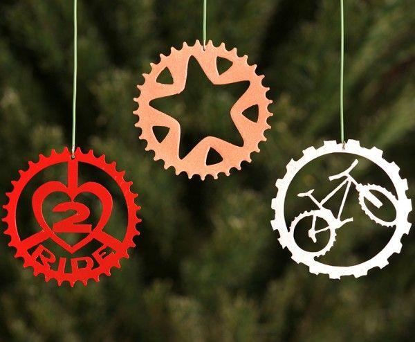 bike ornaments decor decoration holiday christmas httpwwwbiketalkercom - Bicycle Christmas Ornament