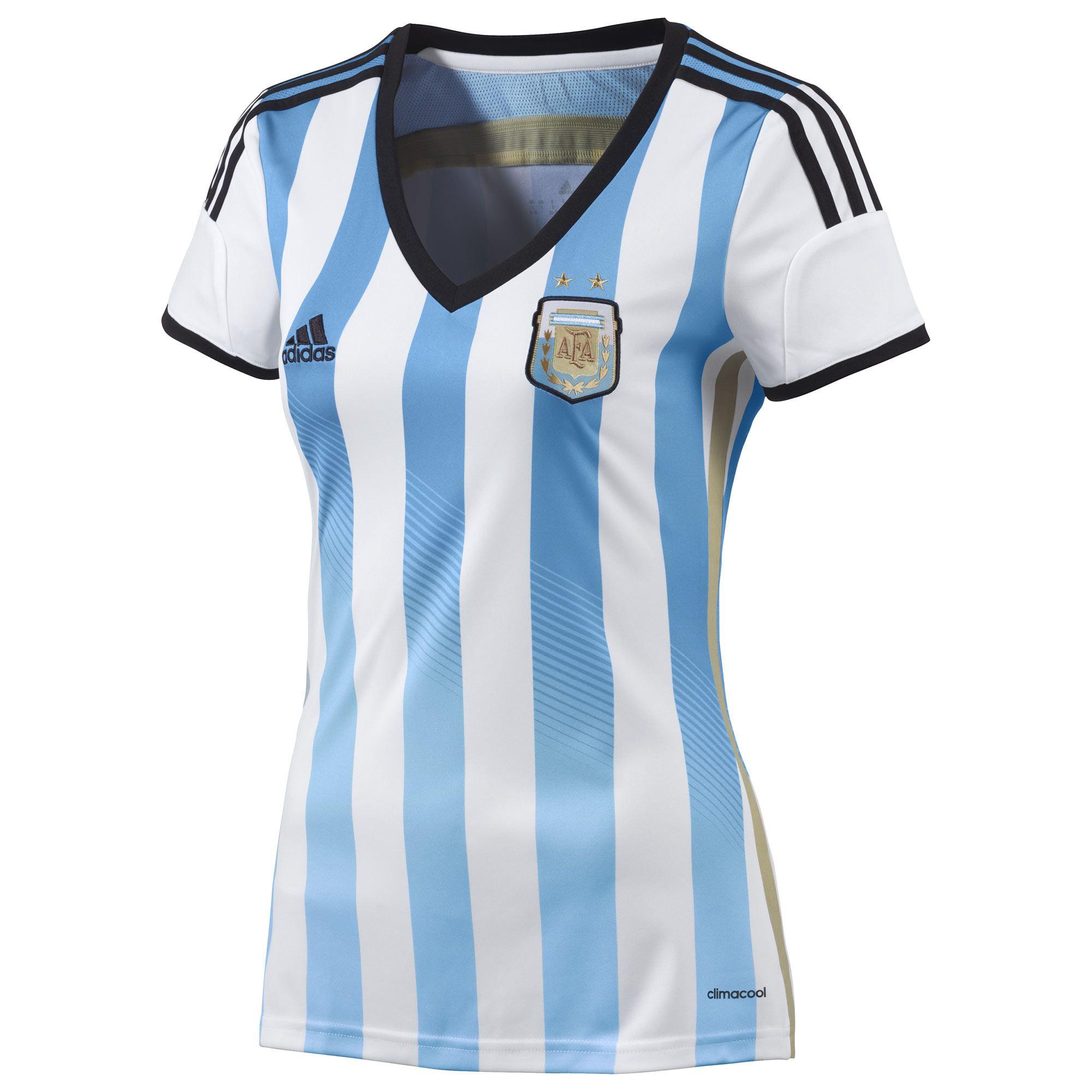 Camiseta de fútbol mujer 2014  fae21d5f82c81