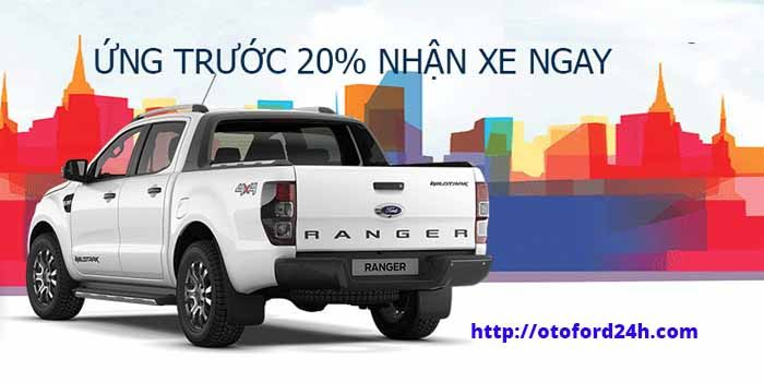 Khuyến mãi cực sốc khi mua Ford Ranger 2018