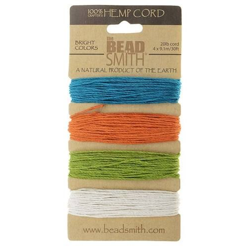 Wrap the pens and pencils with this hemp cord.