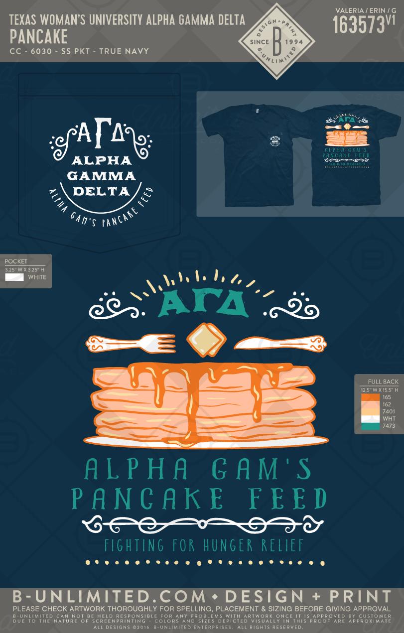alpha gamma delta pancake philanthropy event #buonyou #greek