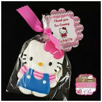 Hello Kitty thank you cookie