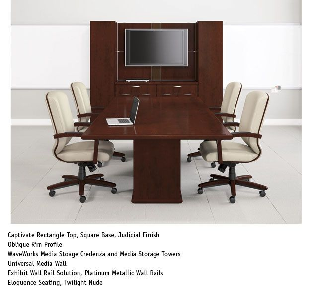 Captivate Conference Table National Office Furniture Conference - Conference national table