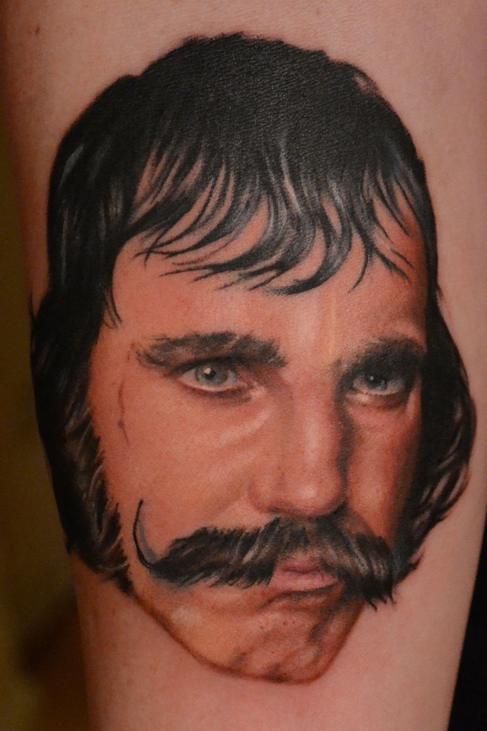 Bill the butcher portrait tattoo portrait tattoo gangs