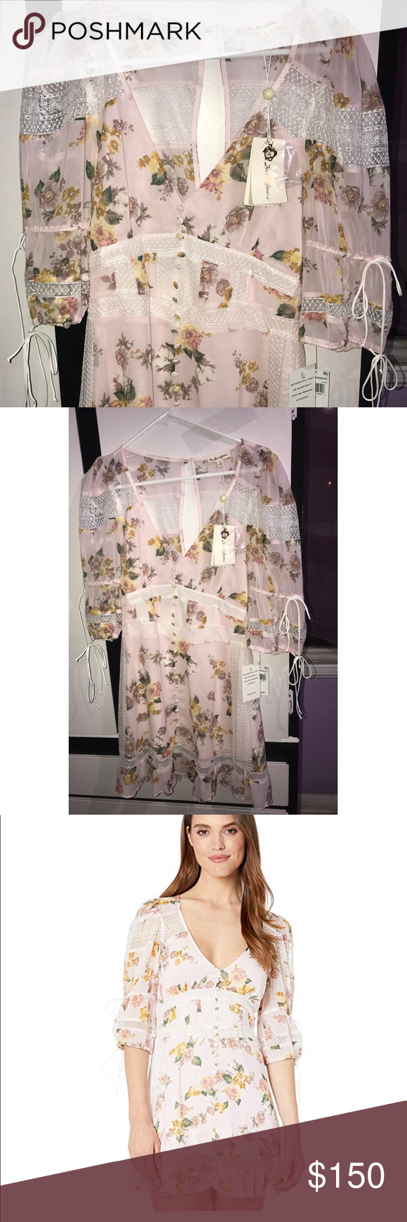 NWT For Love & Lemons Dress For Love and Lemons Isadora Mini Dress  SIZE SMALL   RETAIL -$334 I'm selling for great deal ‼️  I❤️offers  NEW NEVER WORN!!  The line taunts with intrigue as a clash of colors and patterns are evoked by chic separates and devious dresses. Where the modern gypsy is punk, For Love & Lemons is a brand to relate to, for that girl that doesn't follow trends, she makes them. For Love And Lemons Dresses Mini